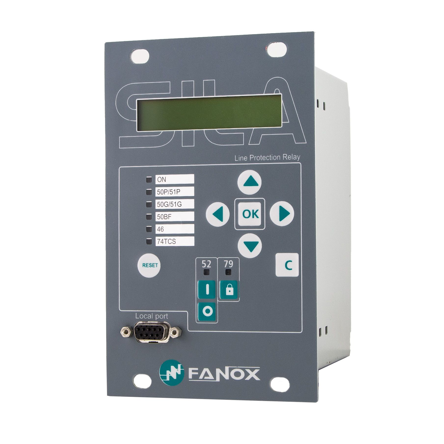 Overcurrent and Earth Fault Protection Relay -SIL-A - Fanox