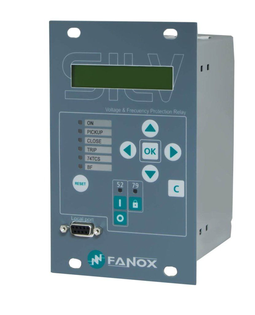 Fanox Self Powered Relaysovercurrent Earth Fault Protection Quality 12 Volt Relay Sil V Innovation In Against A Loss Of Mains Islanding