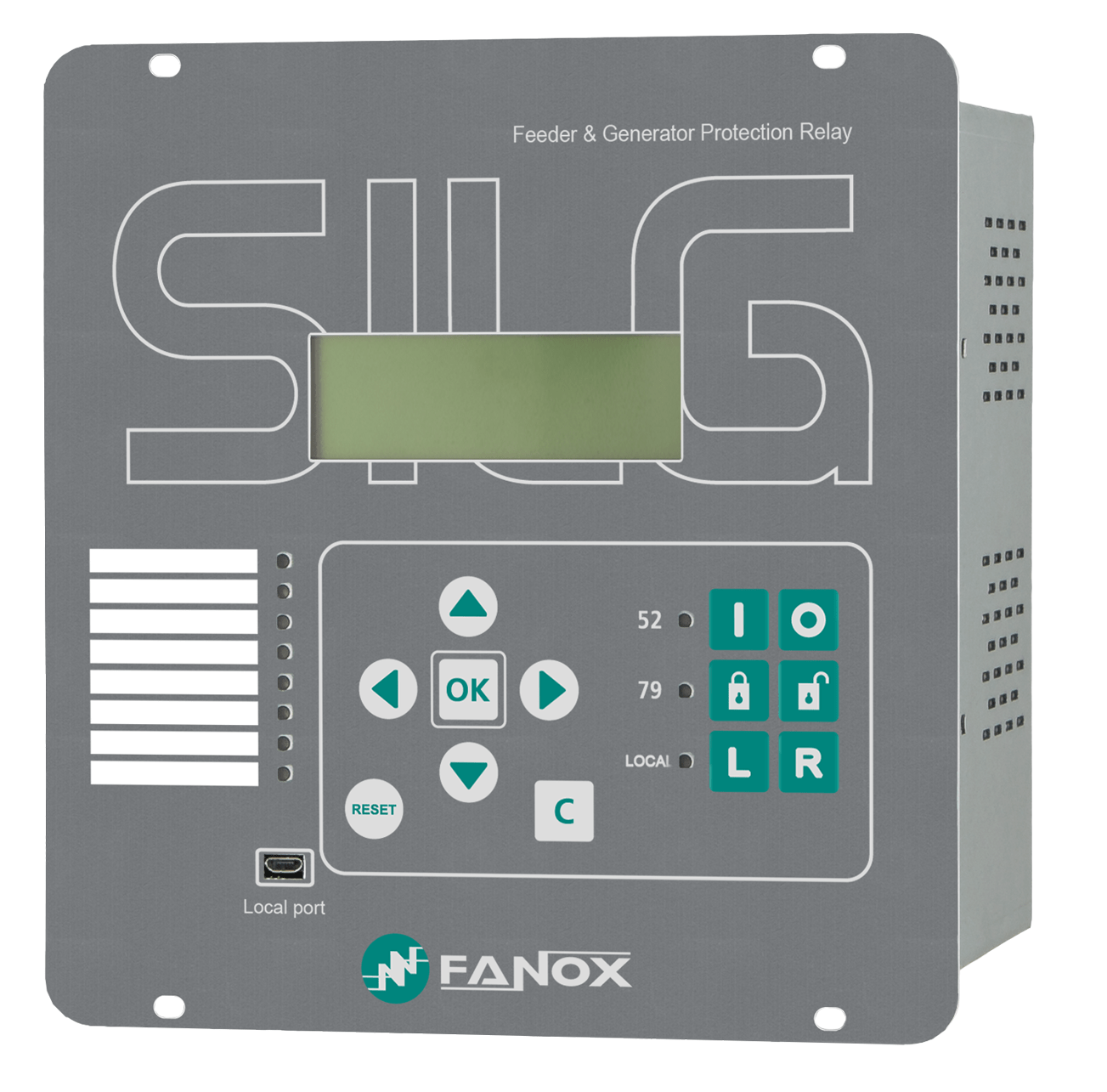 SIL-G Advance - Feeder & Generator Protection Relays - Fanox - Self